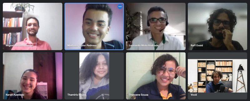 Reunião do projeto Análise da desigualdade social da juventude com microdados da PNAD C utilizando a linguagem R