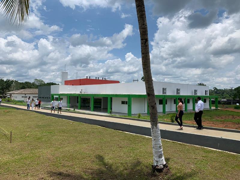 Novas estruturas no Campus Ariquemes REFEITORIO