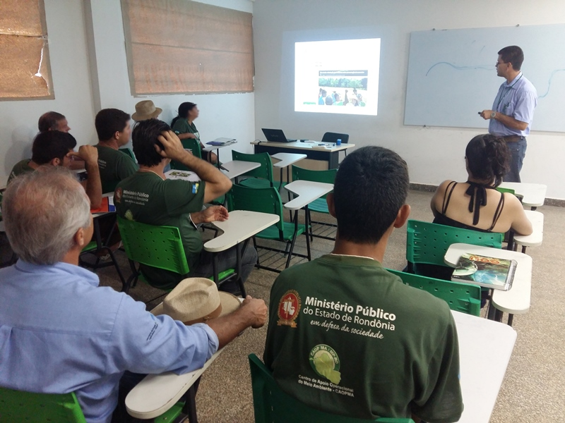 Campus Cacoal sedia final do curso de ressocialização ambiental do MP-RO